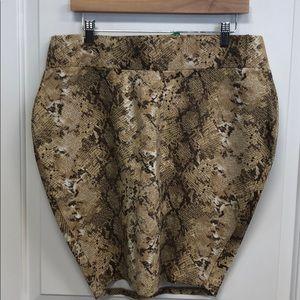 Torrid Snake Print Body Avon Skirt